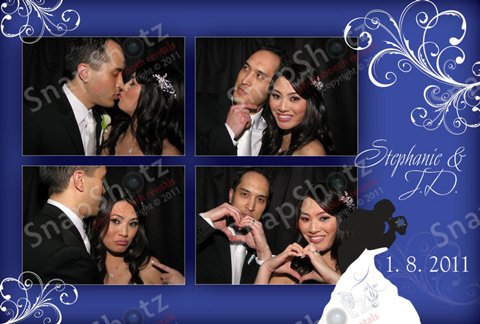 Stephanie And JDs Wedding With SnapShotz Photobooth Rentals Of Los Angeles