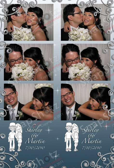 Shirley And Martins Wedding Celebration With SnapShotz Photobooth Rentals Of Los Angeles