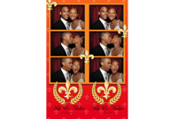 2x6, 3 Pictures - Photobooth Print Sample