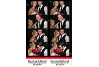 2x6, 4 Pictures - Photobooth Print Sample