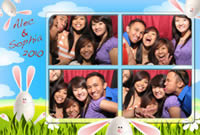 Snapshotz Photobooth Rentals Los Angeles Holiday Sample 2