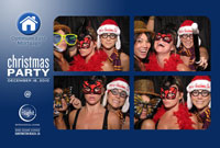 Snapshotz Photobooth Rentals Los Angeles Holiday Party 1