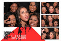 Snapshotz Photobooth Rentals Los Angeles Corporate Sample Live on Sunset